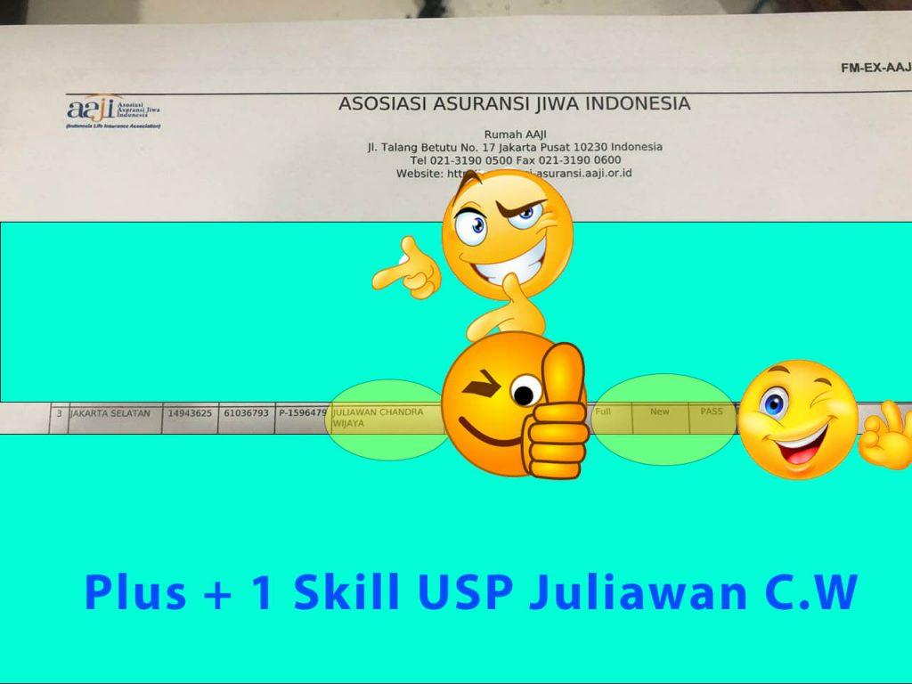 Juliawan Chandra Wijaya Pass Exam AAJI